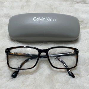 CK men's plastic glasses